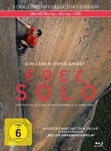 Free Solo (Blu-ray & DVD im Mediabook), Blu-ray Disc