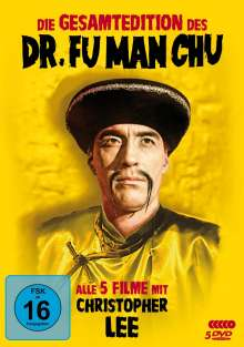 Dr. Fu Man Chu (Gesamtedition), 5 DVDs