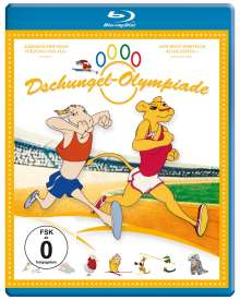 Dschungel-Olympiade (Blu-ray), Blu-ray Disc