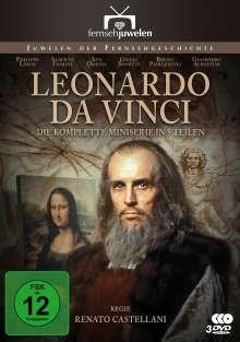 Leonardo da Vinci (Komplette Miniserie), 2 DVDs