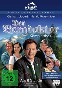 Der Bergdoktor (Komplettbox), 28 DVDs