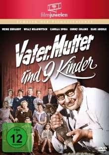 Vater, Mutter und neun Kinder, DVD