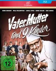 Vater, Mutter und neun Kinder (Blu-ray), Blu-ray Disc