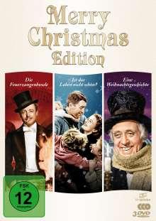 Merry Christmas Edition (Die Feuerzangenbowle / Ist das Leben nicht schön / Eine Weihnachtsgeschichte), 3 DVDs