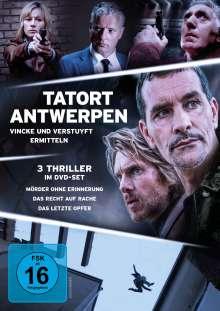 Tatort Antwerpen - Vincke und Verstuyft ermitteln, 3 DVDs