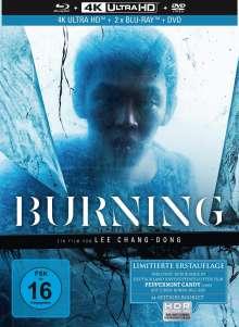Burning (Ultra HD Blu-ray & Blu-ray & DVD im Mediabook), 4 Ultra HD Blu-rays