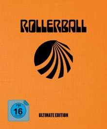 Rollerball (1975) (Ultimate Edition) (Ultra HD Blu-ray & Blu-ray im Mediabook), 1 Ultra HD Blu-ray und 4 Blu-ray Discs