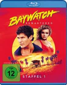 Baywatch Staffel 1 (Blu-ray), 4 Blu-ray Discs