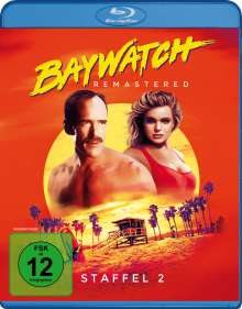 Baywatch Staffel 2 (Blu-ray), 4 Blu-ray Discs