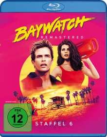 Baywatch Staffel 6 (Blu-ray), 4 Blu-ray Discs