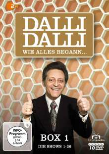 Dalli Dalli - Wie alles begann, 10 DVDs