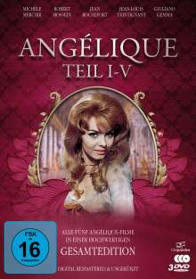 Angélique (Gesamtedition), 3 DVDs