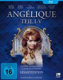 Angélique (Gesamtedition) (Blu-ray), 2 Blu-ray Discs