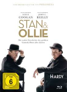 Stan & Ollie (Blu-ray & DVD im Mediabook), 3 Blu-ray Discs