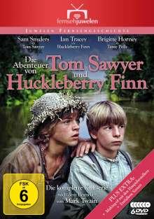 Die Abenteuer von Tom Sawyer und Huckleberry Finn (Komplette Serie), 6 DVDs
