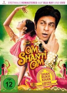 Om Shanti Om (Blu-ray & DVD), 1 Blu-ray Disc und 1 DVD