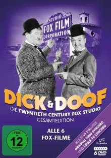 Dick und Doof - Die Fox-Studio-Gesamtedition (Alle 6 Fox-Filme), 3 DVDs