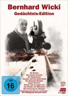 Bernhard Wicki - Gedächtnis-Edition, 10 DVDs