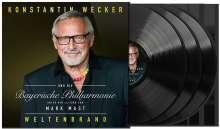 Konstantin Wecker: Weltenbrand, 3 LPs