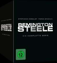 Remington Steele (Komplette Serie im Digipak), 30 DVDs