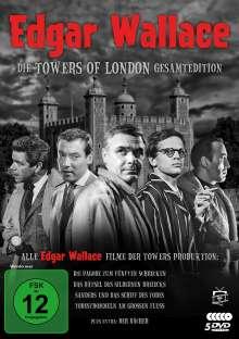 Edgar Wallace - Die Towers of London Gesamtedition, 5 DVDs