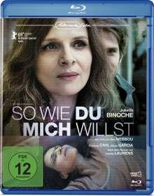 So wie du mich willst (Blu-ray), Blu-ray Disc