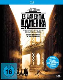 Es war einmal in Amerika (Extended Director's Cut + Langfassung inkl. Original-Synchro) (Blu-ray), 2 Blu-ray Discs
