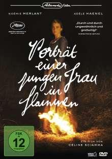 Porträt einer jungen Frau in Flammen, DVD