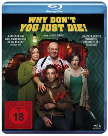 Why Don't You Just Die! (Blu-ray), Blu-ray Disc