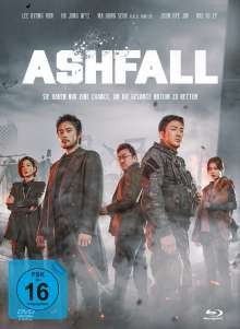 Ashfall (Blu-ray & DVD im Mediabook), 1 Blu-ray Disc und 1 DVD