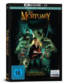 The Mortuary (Ultra HD Blu-ray & Blu-ray im Mediabook), 1 Ultra HD Blu-ray und 1 Blu-ray Disc