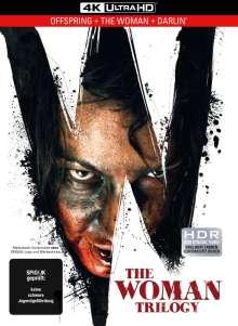 The Woman Trilogy (Ultra HD Blu-ray im Mediabook), 3 Ultra HD Blu-rays