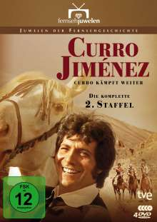 Curro Jiménez Staffel 2: Curro kämpft weiter, 4 DVDs