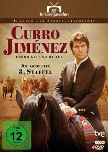 Curro Jiménez Staffel 3: Curro gibt nicht auf, 4 DVDs