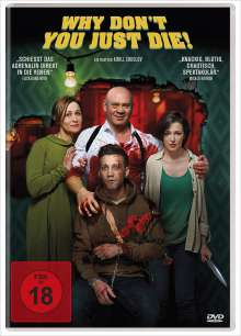 Why Don't You Just Die!, DVD