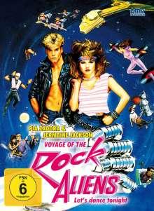 Voyage of the Rock Aliens (Blu-ray & DVD im Mediabook), 1 Blu-ray Disc und 2 DVDs