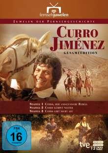Curro Jiménez (Gesamtedition), 12 DVDs