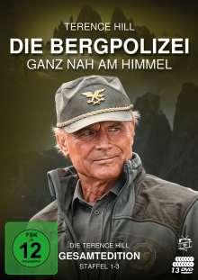 Die Bergpolizei - Ganz nah am Himmel (Terence-Hill-Gesamtedition), 13 DVDs