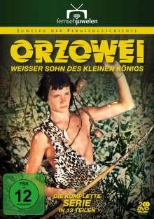 Orzowei - Weißer Sohn des kleinen Königs (Komplette Serie), 2 DVDs