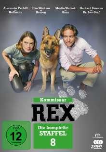 Kommissar Rex Staffel 8, 3 DVDs