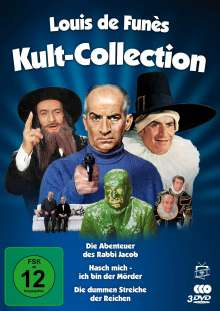 Louis de Funès - Kult-Collection (3 Filme), 3 DVDs
