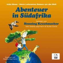 Jutta Maas: Herrn Lehmanns Reisen um die Welt: Abenteuer in Südarfika, MP3-CD