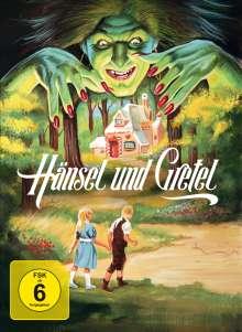 Hänsel und Gretel (1987) (Blu-ray & DVD im Mediabook), 1 Blu-ray Disc und 1 DVD