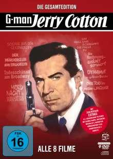 Jerry Cotton - Die Gesamtedition (8 Filme), 8 DVDs