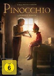 Pinocchio (2019), DVD