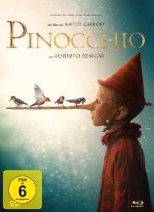 Pinocchio (2019) (Blu-ray & DVD im Mediabook), 1 Blu-ray Disc und 1 DVD