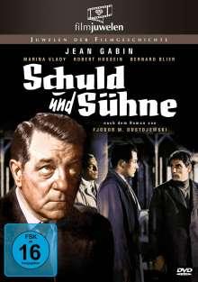 Schuld und Sühne (1956), DVD