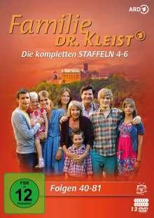Familie Dr. Kleist Staffel 4-6, 12 DVDs