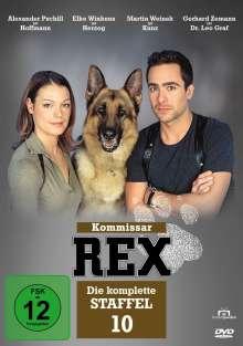 Kommissar Rex Staffel 10, DVD