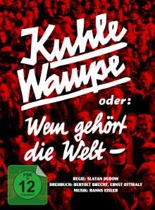 Kuhle Wampe oder: Wem gehört die Welt? (Blu-ray & DVD im Mediabook), 1 Blu-ray Disc und 1 DVD